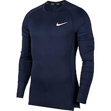 Термобілизна чоловіча Nike Pro Tight-Fit Longsleeve Top BV5588-452 Темно-синій