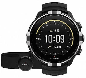 Смарт-часы Suunto Spartan Sport Wrist HR Baro Stealth + HRM Belt (SS023404000)