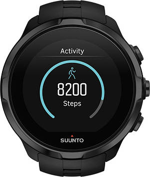 Смарт-годинник Suunto Spartan Sport Wrist HR All Black (ss022662000)