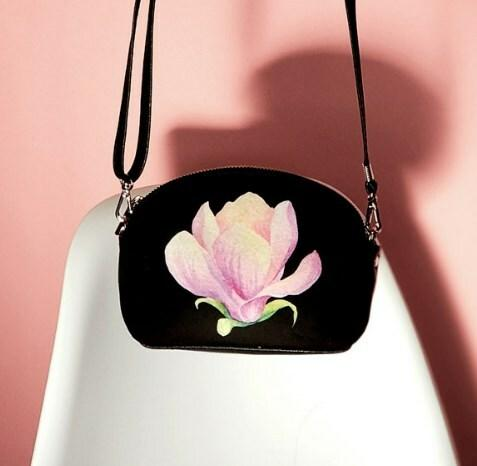 Маленькая женская сумочка Coquette Магнолия (COQ_CLF002_BL)