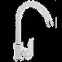 Змішувач для кухонної мийки INVENA Dokos BZ-19-002 білий