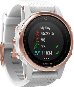 Смарт-часы Garmin Fenix 5s Rose Goldtone Sapphire (010-01685-16)