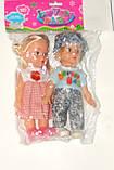 Кукла 8852  3 вида, мальчик+девочка, в кульке, 20-19 см, фото 5