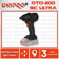 Аккумуляторный гайковерт винтовёрт Dnipro-M DTD-200 BC ULTRA (Impact Импакт)