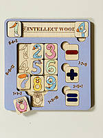 Рамка вкладиш Intellect Wood сортер калькулятор 19*20 (s00017)