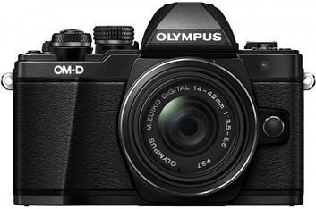 Фотоаппарат Olympus OM-D E-M10 MarkII kit (14-42mm) IIR Black