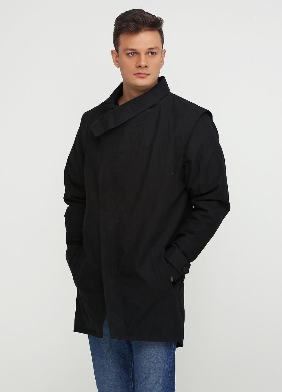 Черная демисезонная куртка размер 50/52 AL-846813
