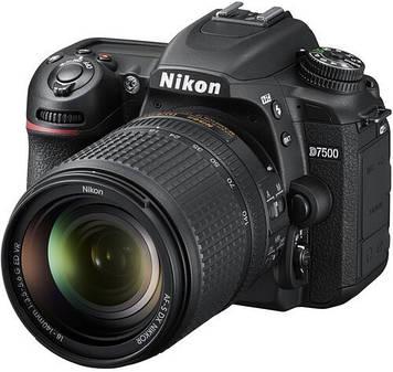 Фотоаппарат Nikon D7500 kit (18-140mm) VR