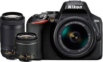 Фотоаппарат Nikon D3500 kit (18-55mm + 70-300mm)