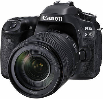 Фотоаппарат Canon EOS 80D Kit 18-135 IS STM