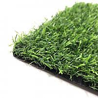 Штучна трава 20 мм ширина 4 м ecoGrass SD-20 (исуственный газон в рулонах), фото 3