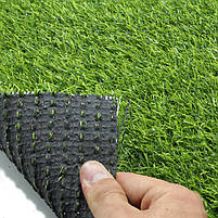 Штучна трава 20 мм ширина 4 м ecoGrass SD-20 (исуственный газон в рулонах), фото 5
