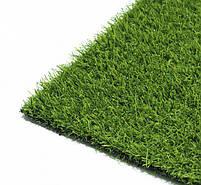 Штучна трава 20 мм ширина 4 м ecoGrass SD-20 (исуственный газон в рулонах), фото 6