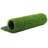 Штучна трава 20 мм ширина 4 м ecoGrass SD-20 (исуственный газон в рулонах), фото 8