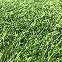 Штучна трава 35 мм ширина 4 м ecoGrass SD-35 (исуственный газон в рулонах), фото 5