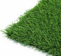 Штучна трава 35 мм ширина 4 м ecoGrass SD-35 (исуственный газон в рулонах), фото 6
