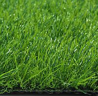 Штучна трава 35 мм ширина 4 м ecoGrass SD-35 (исуственный газон в рулонах), фото 7