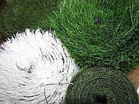 Белая искусственная трава для футбола 43 мм ширина 2 м CCGrass Nature D3-40 FIFA Certificate, фото 6