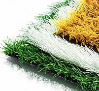 Оранжевая искусственная трава для футбола 43 мм ширина 2 м CCGrass Nature D3-40 FIFA Certificate, фото 3