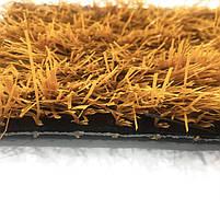 Оранжевая искусственная трава для футбола 43 мм ширина 2 м CCGrass Nature D3-40 FIFA Certificate, фото 4