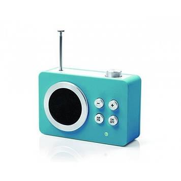 Радиоприемник Яркие впечатления (AM/FM - MP3), бирюзовый