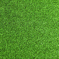 Зеленая искусственная трава для тенниса 18 мм ширина 2 м CCGrass YEII 15 (исуственный газон в рулонах), фото 2