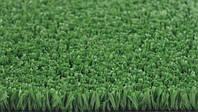 Зеленая искусственная трава для тенниса 18 мм ширина 2 м CCGrass YEII 15 (исуственный газон в рулонах), фото 6