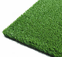 Зеленая искусственная трава для тенниса 18 мм ширина 2 м CCGrass YEII 15 (исуственный газон в рулонах), фото 7