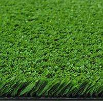 Зеленая искусственная трава для тенниса 18 мм ширина 2 м CCGrass YEII 15 (исуственный газон в рулонах), фото 8