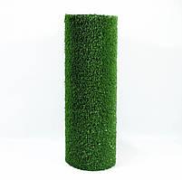 Зеленая искусственная трава для тенниса 18 мм ширина 2 м CCGrass YEII 15 (исуственный газон в рулонах), фото 10