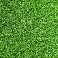 Зелена штучна трава для тенісу 18 мм ширина 4 м CCGrass YEII 15 (исуственный газон в рулонах), фото 2