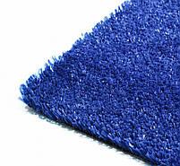 Синя штучна трава для тенісу 18 мм ширина 4 м CCGrass YEII 15 (исуственный газон в рулонах), фото 4