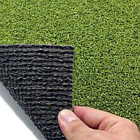Штучна трава для тенісу 12 мм ширина 4 м CCGrass Green E 12 (исуственный газон в рулонах), фото 3