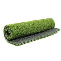 Штучна трава для тенісу 12 мм ширина 4 м CCGrass Green E 12 (исуственный газон в рулонах), фото 8