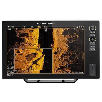 Эхолот/картплоттер Humminbird SOLIX 15x CHIRP MEGA SI GPS