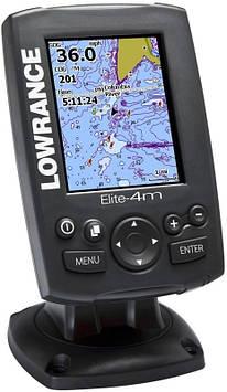 Эхолот/картплоттер Lowrance Elite-4m