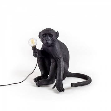 """Лампа """"MONKEY"""", черная"""