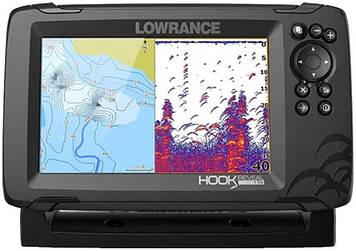 Эхолот/картплоттер Lowrance Hook Revel 7 83/200