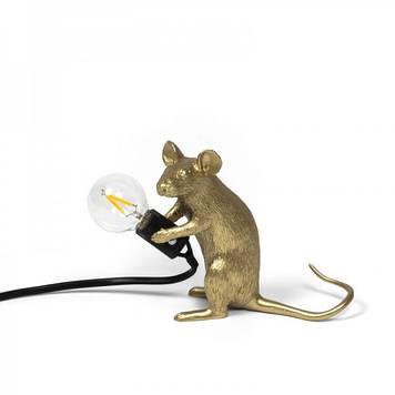 Лампа Mouse Seletti, золото