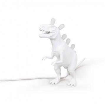 Светильник Динозавр, белый