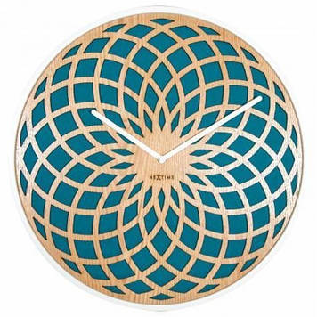 """Часы настенные """"Sun Large Turquoise"""""""