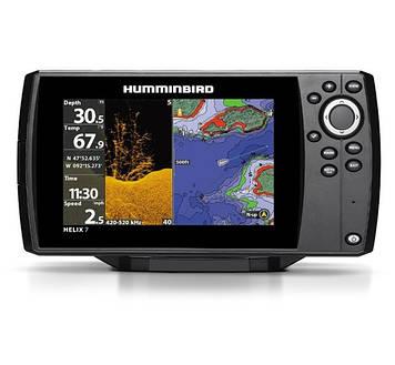 Эхолот/картплоттер Humminbird Helix 7 CHIRP DI GPS