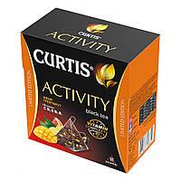 Чай черный пакетированный Curtis Activity Black Tea 18 пакетиков, фото 1
