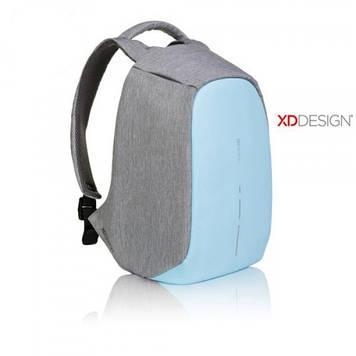 "Рюкзак антивор городской XD Design Bobby Compact 14"", Pastel Blue"