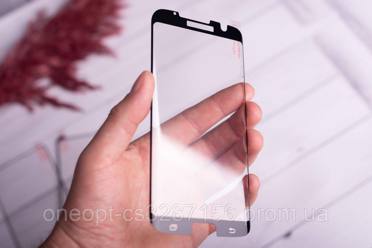 Гнучке полімер-скло 5D для Samsung S7 Edge Black