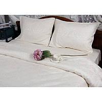 Комплект постельного белья Deco Bianca сатин жаккард jk17-02 krem кремовый евро