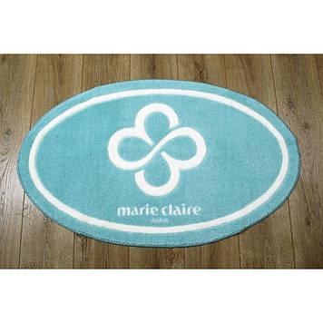 Коврик в ванную комнату Marie Claire - Sally аква 66*107 овал