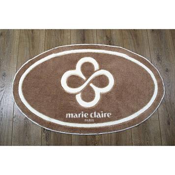 Коврик в ванную комнату Marie Claire - Sally коричневый 66*107 овал