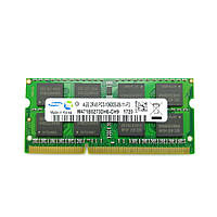 Оперативная память для ноутбука Sodimm DDR3 4GB 1333mhz PC3-10600 (Samsung M471B5273DH0-CH9) нов