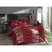 Комплект постельного белья Pierre Cardin - Velvet красный сатин евро
